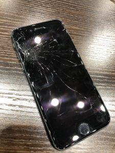アイフォン8画面割れ