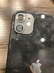 カメラガラス割れ  カメラガラス交換
