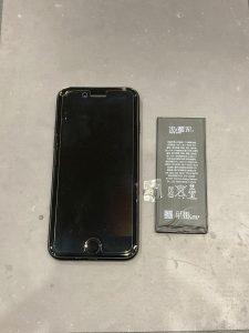 iPhone7 電池交換 データそのまま 名張市