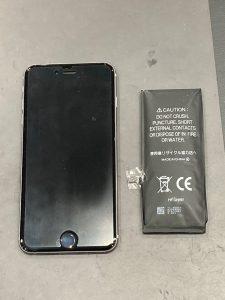iPhone 6p 電池交換 東員町