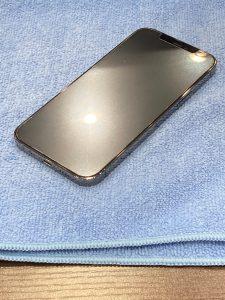 iPhone 12Pro ガラスコーティング 員弁郡