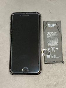 iPhone8 電池交換 菰野町