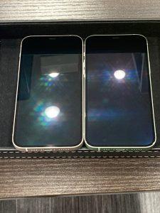 iPhone 12 ガラスコーティング 東員町