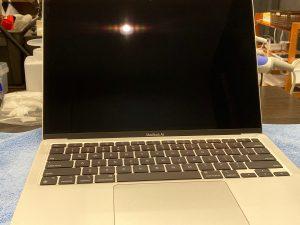 MacBook Air ガラスコーティング 抗菌コート 桑名市